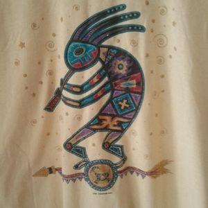 2/$16 women's L short sleeve t-shirt (Aztek theme)